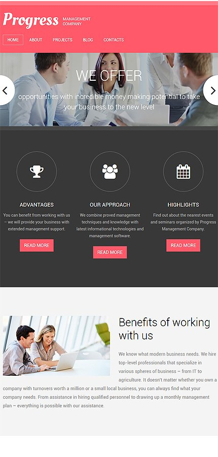 Drupal Template 58394 Main Page Screenshot