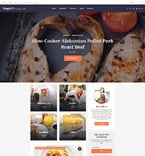 Food & Drink WordPress Template 58395