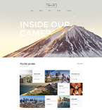 Art & Photography Website  Template 58398