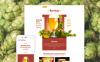 Адаптивний Шаблон сайту на тему пивоварня New Screenshots BIG