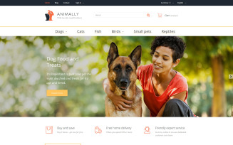 Animally PrestaShop Theme