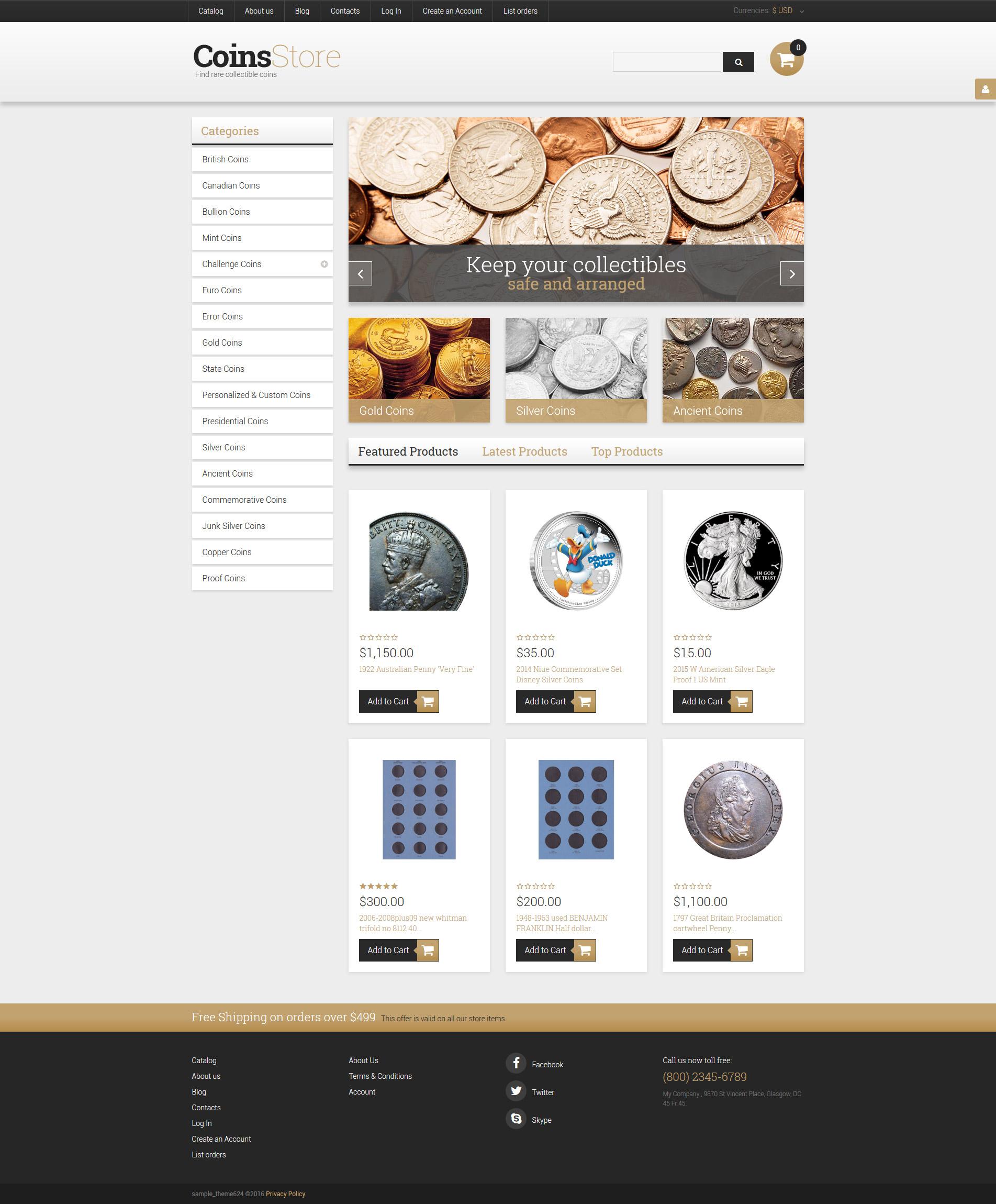 Free Hosting Templates Templatemonster Ebook Database