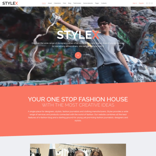 Stylex - Joomla! Template based on Bootstrap