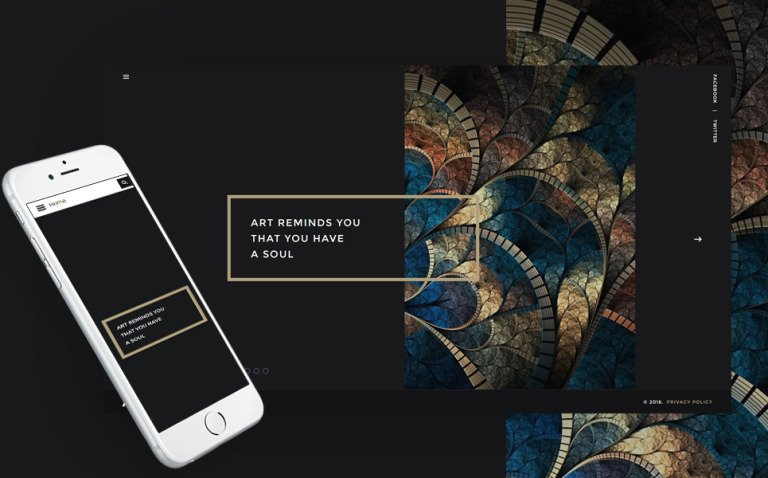 Art Joomla Template New Screenshots BIG