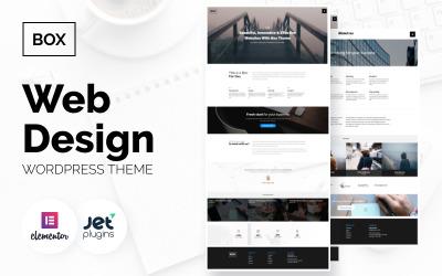 Box - Web Design Multipurpose Modern WordPress Elementor Theme