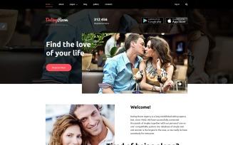 DatingRoom Joomla Template