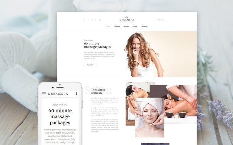 Dream Spa Website Template New Screenshots BIG