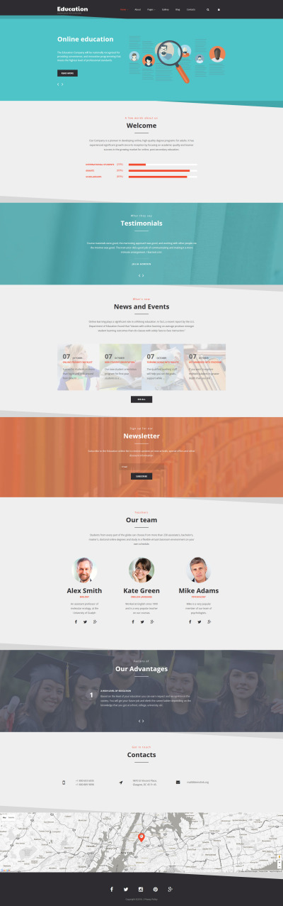 Education Template Joomla №58369 #58369