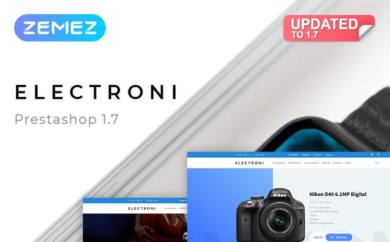 Electroni - Electronic Devices PrestaShop Theme