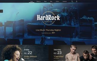 HardRock Joomla Template