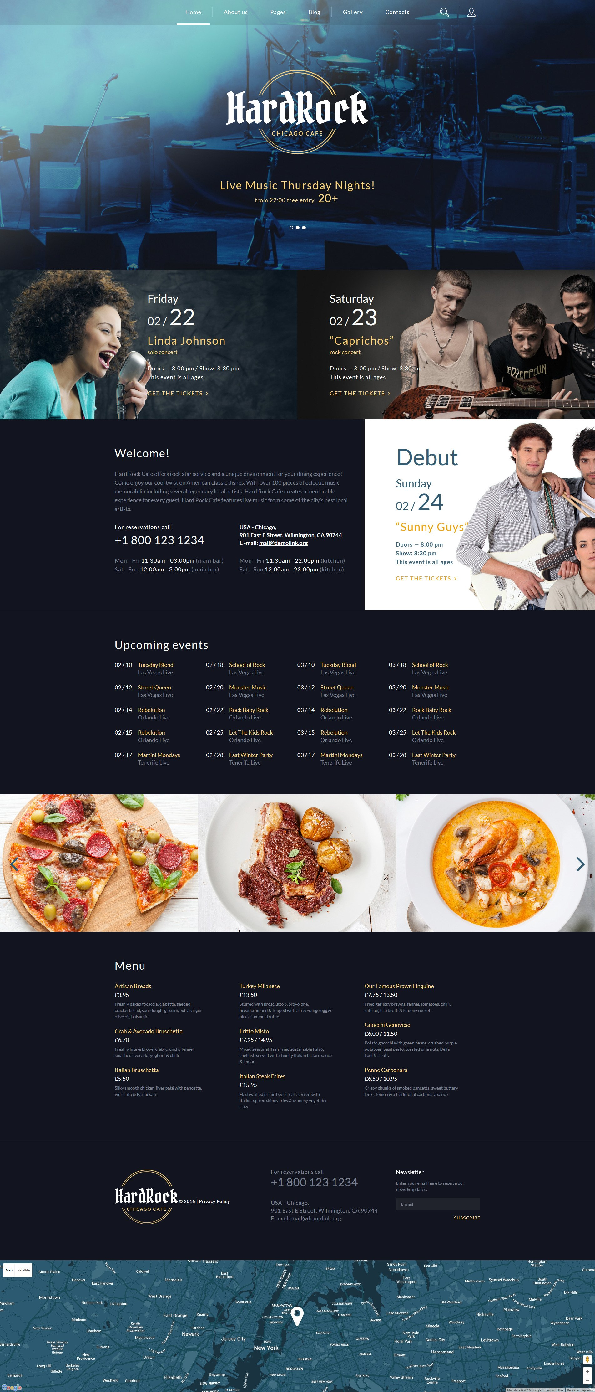 Cafe Joomla Template