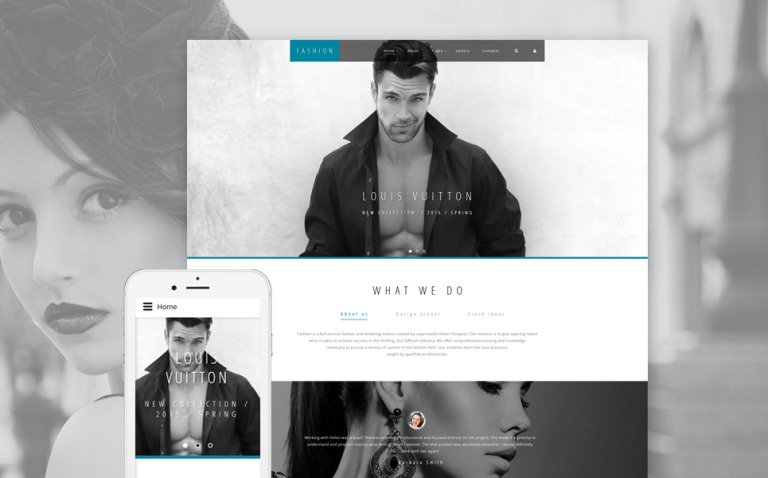 High Fashion Joomla Template New Screenshots BIG