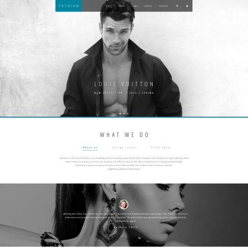 Fashion - Joomla! Template based on Bootstrap