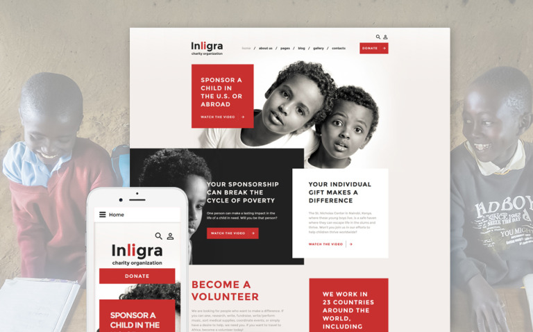 Inligra Joomla Template New Screenshots BIG