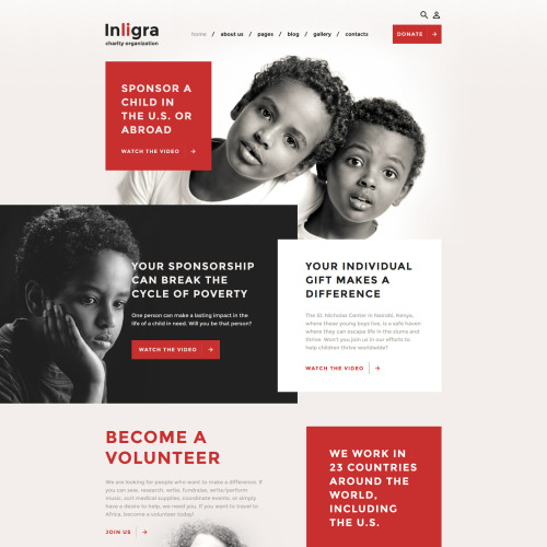 Inligra - Joomla! Template based on Bootstrap