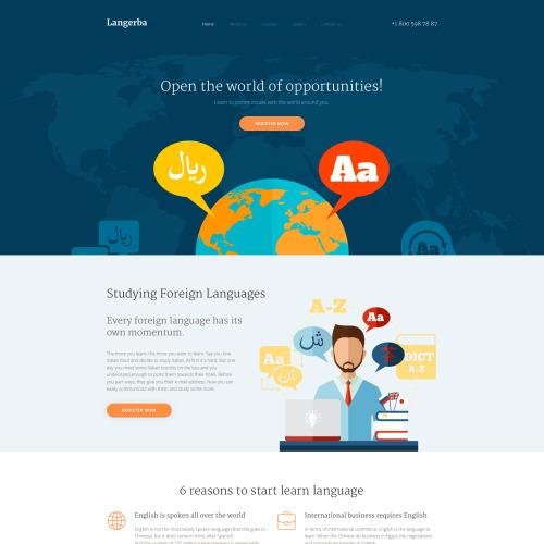 Langerba - Responsive Website Template