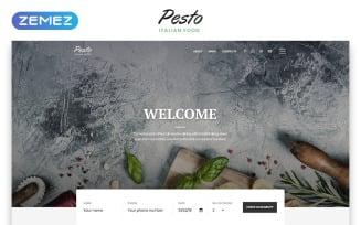 Pesto - Italian Restaurant Multipage Stylish HTML Website Template