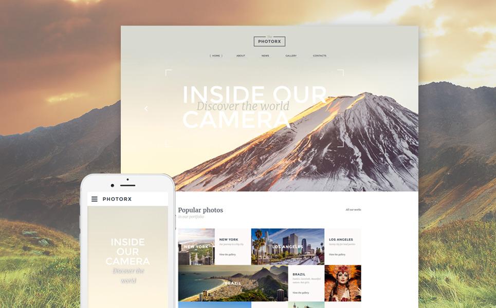 Photo Studio Responsive Website Template New Screenshots BIG