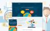 Responsive Website template over Taalschool  New Screenshots BIG
