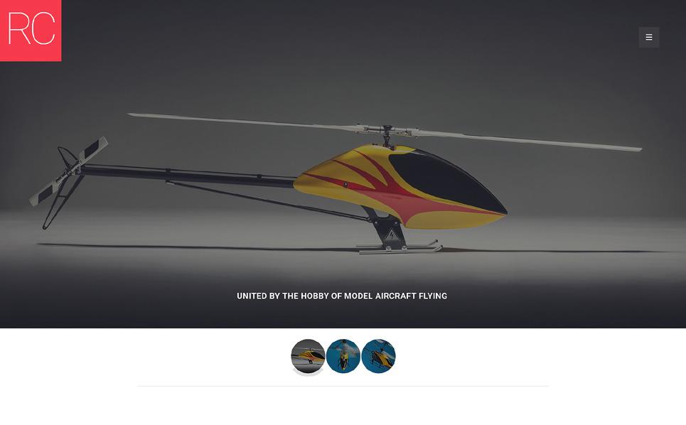 Responsive Website Vorlage für Spielzeuggeschäft  New Screenshots BIG