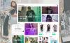 Responzivní PrestaShop motiv na téma Prodejna triček New Screenshots BIG