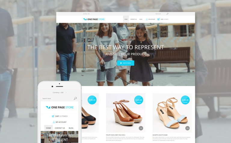 Shoe Store Responsive Shopify Theme #58373
