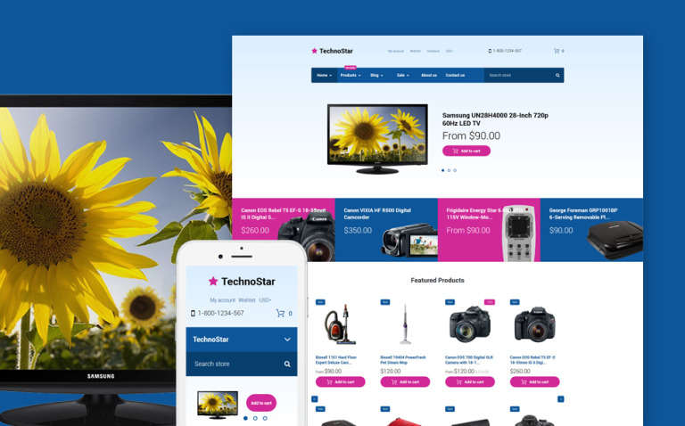 TechnoStar - Electronics Store Responsive Shopify Theme New Screenshots BIG