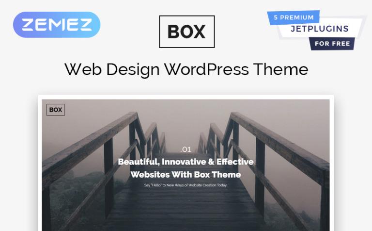 Tema de WordPress #58337 para Sitio de Diseño Web