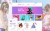 Tema PrestaShop  Flexível para Sites de Loja de Brinquedos №58384 New Screenshots BIG