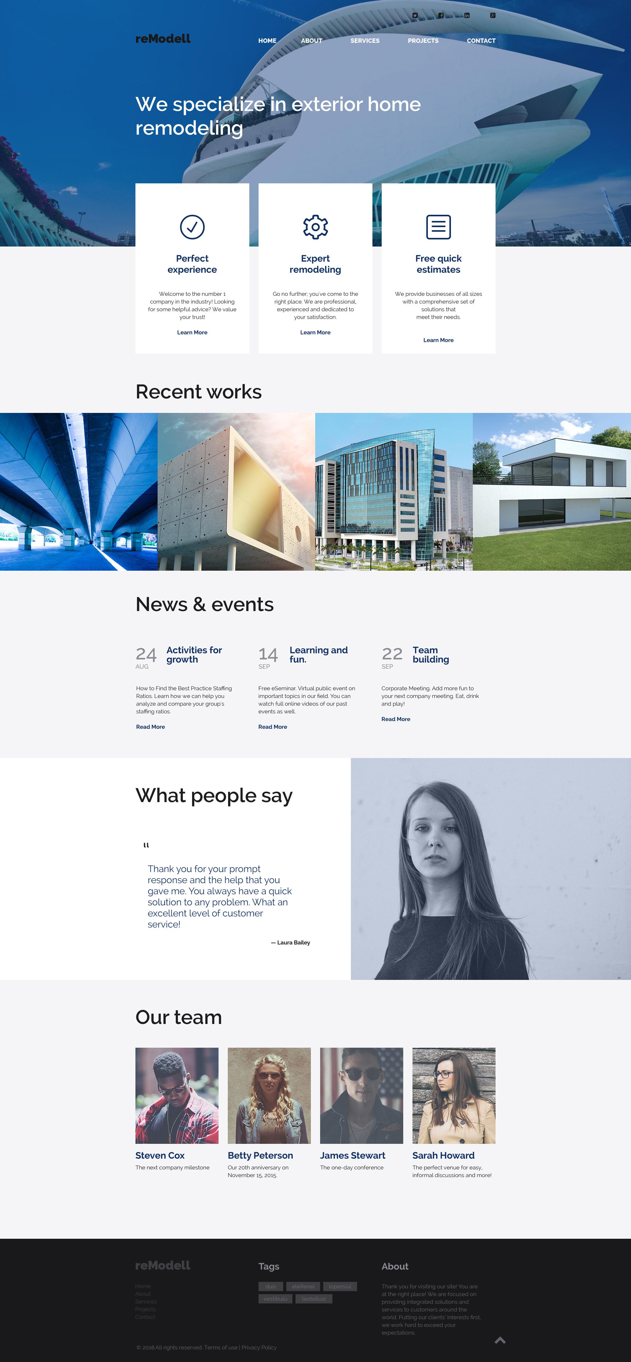 Template siti web 58372 per un sito di ritocco domestico for Siti design interni