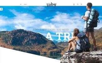Veltry - Travel Store PrestaShop Theme