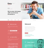 Communications Website  Template 58400