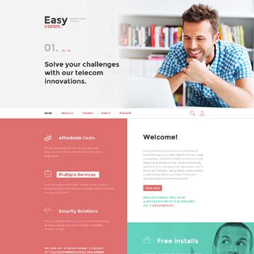 Купить  пофессиональные Bootstrap и html шаблоны. Купить шаблон #58400 и создать сайт.