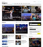 Media WordPress Template 58404