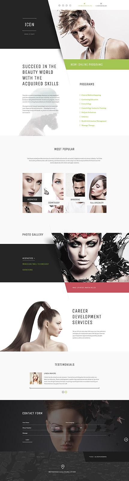Website Template #58405