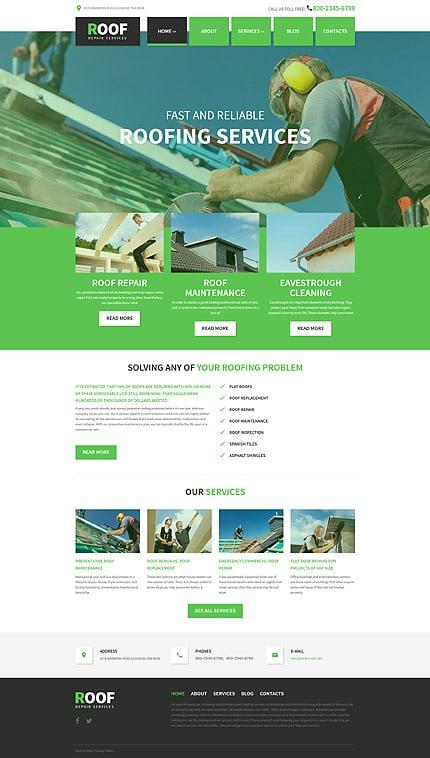 WordPress Theme/Template 58408 Main Page Screenshot