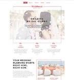 Wedding Website  Template 58409