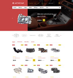 Cars PrestaShop Template 58410