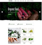 Agriculture Website  Template 58411