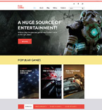 Games WordPress Template 58412