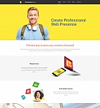 Web design Moto CMS 3  Template 58414