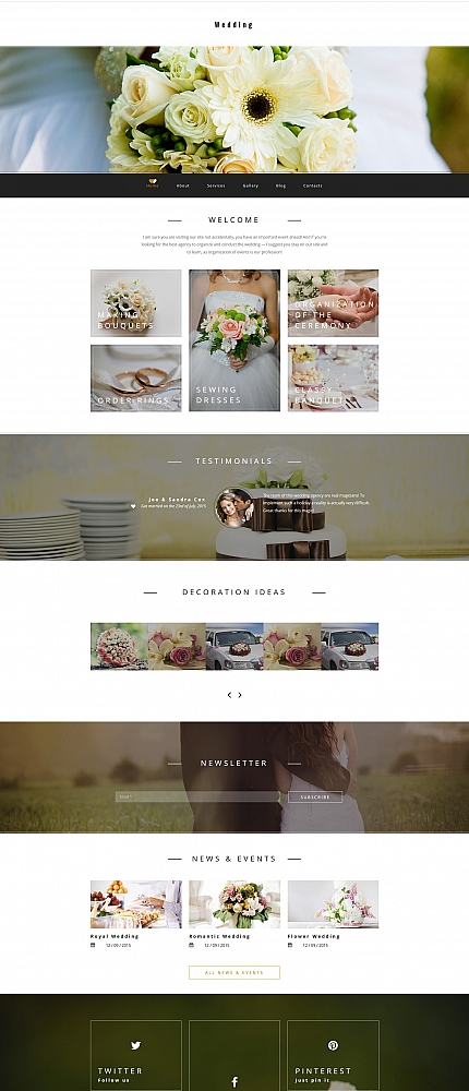 ADOBE Photoshop Template 58415 Home Page Screenshot