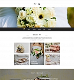 Wedding Moto CMS 3  Template 58415