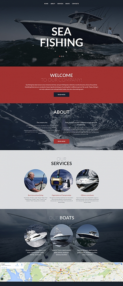 ADOBE Photoshop Template 58427 Home Page Screenshot