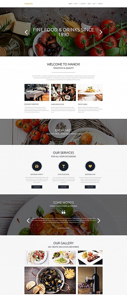 ADOBE Photoshop Template 58431 Home Page Screenshot