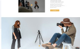 Davis - Photographer Portfolio Multipage HTML5 Website Template