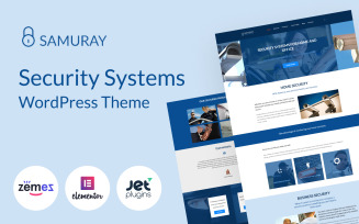 Samuray - Elementor-based security WordPress Theme