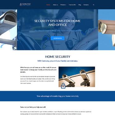 Security WordPress Theme | Website Templates