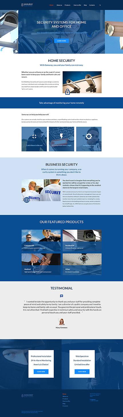WordPress Theme/Template 58441 Main Page Screenshot