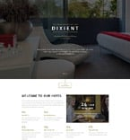 Hotels Landing Page  Template 58443